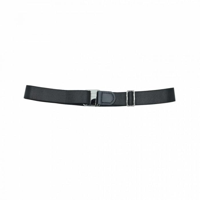 Bretele suspensor camasa talie negre Musset