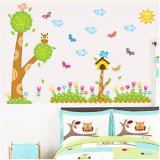 Cumpara ieftin Sticker decorativ Garden Joy autocolant de perete pentru camera copii, 90x60cm