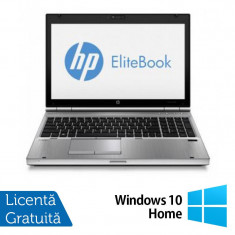 Laptop HP EliteBook 8570p, Intel Core i5-3320M 2.60GHz, 8GB DDR3, 320GB SATA, DVD-RW + Windows 10 Home