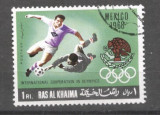 Ras Al Khaima 1969 Sport, Football, Soccer, used AS.058