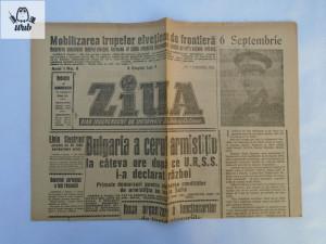 Ziarul Ziua 7 septembrie 1944   Okazii.ro