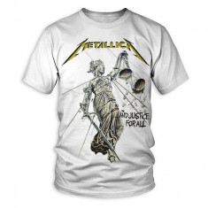 Metallica And Justice For All wht (tricou)
