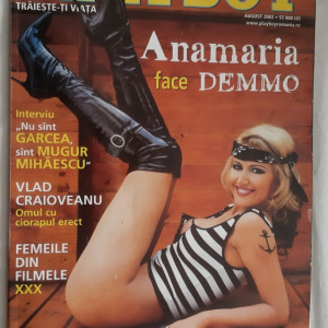 PLAYBOY  AUGUST ANUL 2002