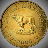 Moneda 1 DENAR - MACEDONIA, anul 2006   *cod 1962 - CALITATE EXCELENTA