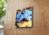 Tablou decorativ pe panza Sightly, 252SGH1246, 45 x 45 cm, Multicolor