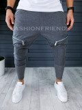Pantaloni de trening pentru barbati  slim fit -  - A8581