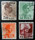 Romania LP 108 , Carol II Uzuale - fara posta , Stampilate