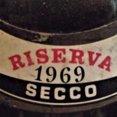 A10 - VIN CABERNET RISERVA, DOC, recoltare 1969 cl 72 gr 12,5