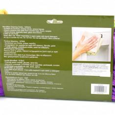 Set 10 lavete microfibre pentru casa si masina