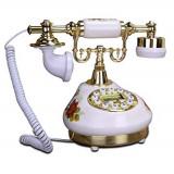 Telefon fix cu afisaj electronic design vintage