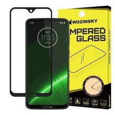 Folie Sticla Motorola Moto G7 Wozinsky 5D Full Glue Neagru