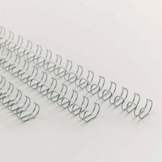 Inele din metal pentru indosariat format A4, pas 2:1