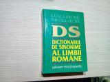 DICTIONARUL DE SINONIME AL LIMBII ROMANE - Luiza Seche - 1999, 972 p.