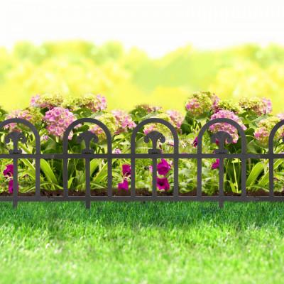 Bordura pt. pat de flori / gard - 60 x 30 - Negru Best CarHome foto