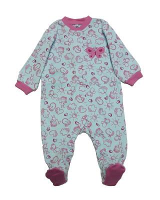 Salopeta / Pijama bebe cu desene Z34 foto