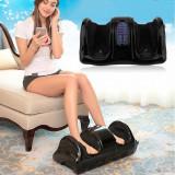 Cumpara ieftin Dispozitiv de masaj pentru picioare, cu telecomanda, negru, Gonga