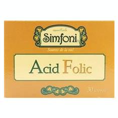 Acid Folic Simfoni Amniocen 30cps Cod: amni00006