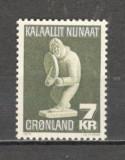 Groenlanda.1979 Arta populara  MG.3, Nestampilat