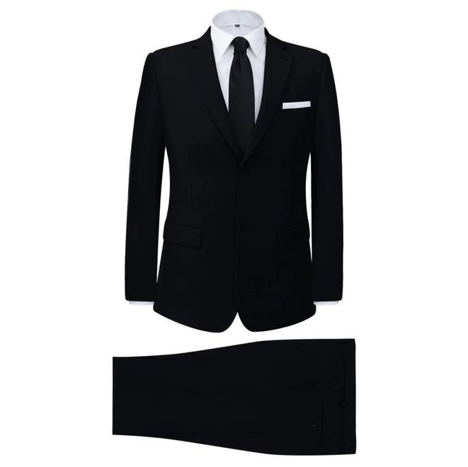 Costum bărbătesc 2 piese mărimea 46, negru