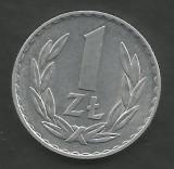POLONIA 1 ZLOT ZLOTY 1973 [1] XF++ , livrare in cartonas, Europa, Aluminiu