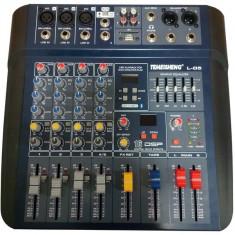 Mixer audio profesional fara amplificare Temeisheng L-05 cu USB si egalizator foto