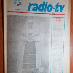 Revista radio-tv saptamana 2-8 martie 1980