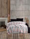 Patura Ekose VI Roz Deschis / Gri, 180 x 220 cm