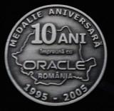 ***Medalia 10 ani impreuna cu ORACLE***