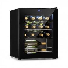 Klarstein Shiraz, frigider de vin, 42 l, panou tactil, 131 W, 5 - 18 °C, negru