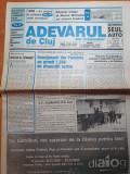 Ziarul adevarul de cluj 18 decembrie 1998