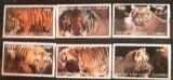 Batum ANIMALE, tigru, animale salbatice, 6V. NESTAMPILATA, Nestampilat