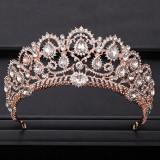 Diadema / Tiara / Coroana mireasa Imperial Rose Gold