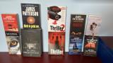 LOT 10 carti James Patterson - thriller,crima,mister - vechi si rare