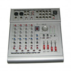 Mixer si amplificator PMX 6S, 2 x 210 W, 6 canale