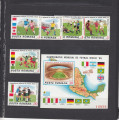 1986 LP 1157 LP 1158 TURNEUL FINAL C.M. FOTBAL MEXIC 1986  SERIE+COLITA NED. MNH