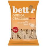 Cumpara ieftin Crackers cu quinoa si susan fara gluten eco, 100g