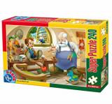 Cumpara ieftin Super puzzle Basme, 240 piese, D-Toys