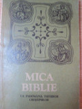 MICA BIBLIE CU ICOANE LA INDEMANA CRESTINILOR , 1990