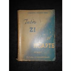 HENRIETTE YVONNE STAHL - INTRE ZI SI NOAPTE (1942, prima editie)