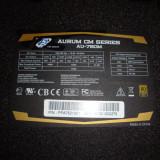 Sursa modulara profesionala Fortron FSP Aurum 80+ Gold 750W real 4x PCI-E