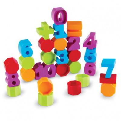 Invatam sa construim cu cifre - set educativ matematic foto