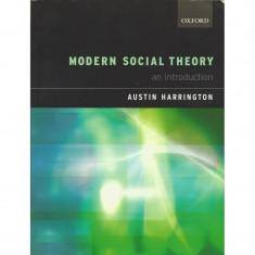 Modern Social Theory: An Introduction - Austin Harrington