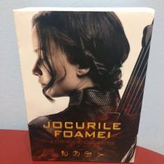 BoxSet DVD Jocurile Foamei (Hunger Games) (toate 4 filme) (Editie colectie),NOU