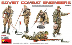 1:35 Soviet Combat Engineers - 5 figures 1:35 foto