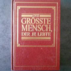 DER GROSSTE MENSCH, DER JE LEBTE (WATCH TOWER BIBLE, limba germana)