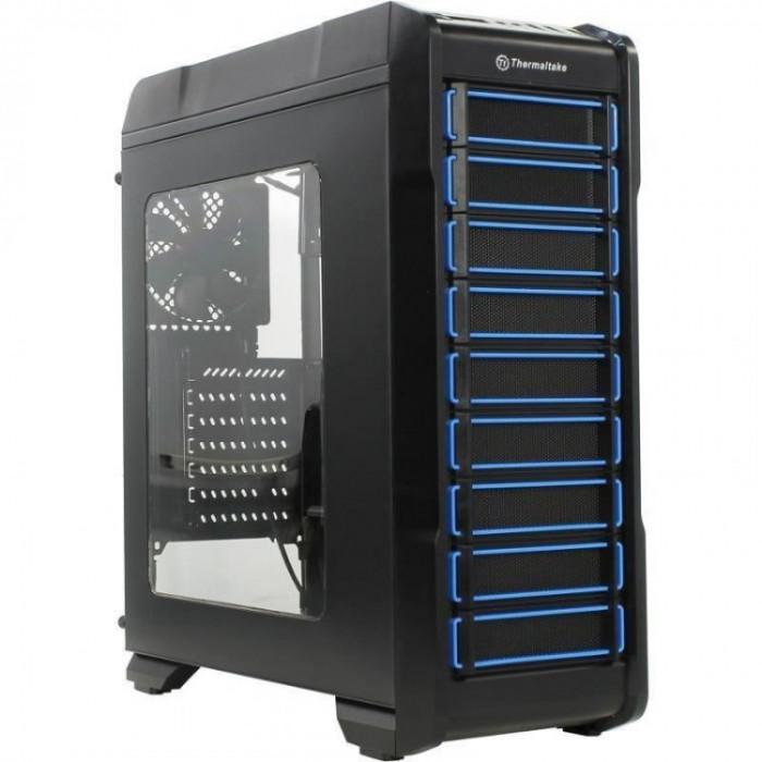 Carcasa desktop Thermaltake Versa N23 , Middle Tower , Recomandat gaming , Negru