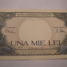 1000 lei 1941 UNC
