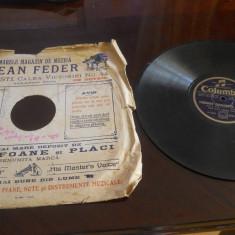 Placa patefon/gramofon Columbia-Foxtrot, Charleston -