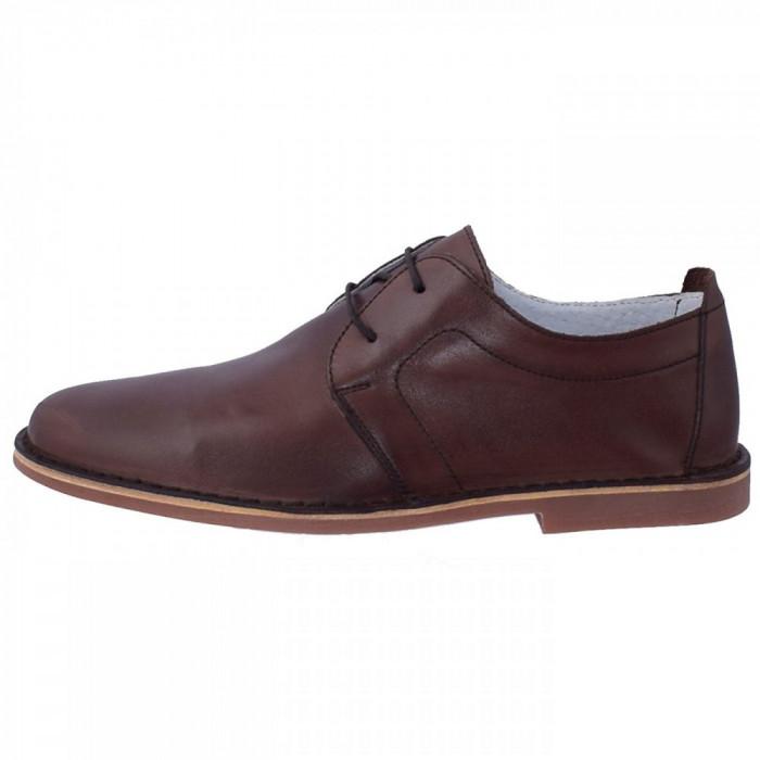 Pantofi barbati, din piele naturala, marca Marco Santini, A10K6028M-02-28, maro , marime: 43