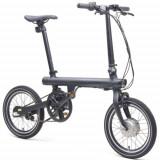 Bicicleta Electrica Xiaomi Mi Smart Electric Folding, Bluetooth, Motor 250 W, Viteza maxima 25 Km/h, Autonomie 45 Km (Negru)